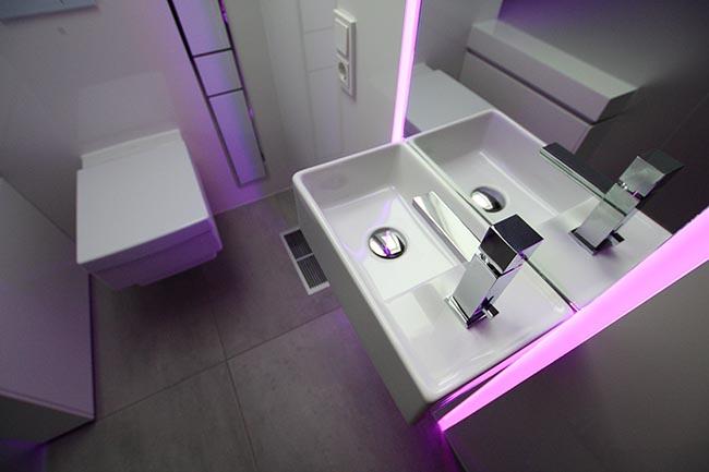 Einzigartiges Designbad individuell entworfen. Secus Bad Design